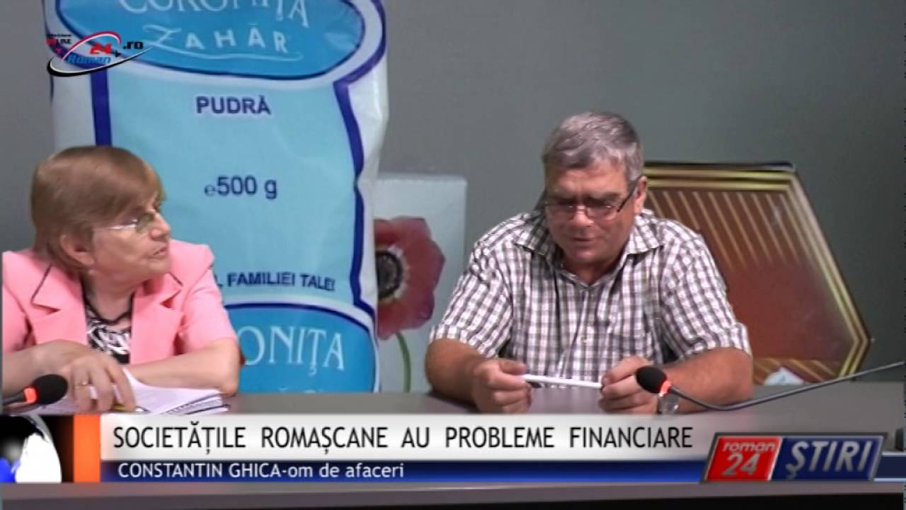 SOCIETĂȚILE ROMAȘCANE AU PROBLEME FINANCIARE