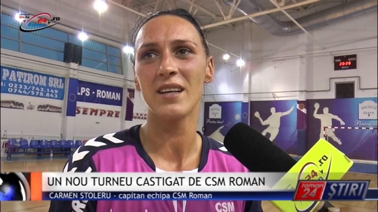 UN NOU TURNEU CASTIGAT DE CSM ROMAN