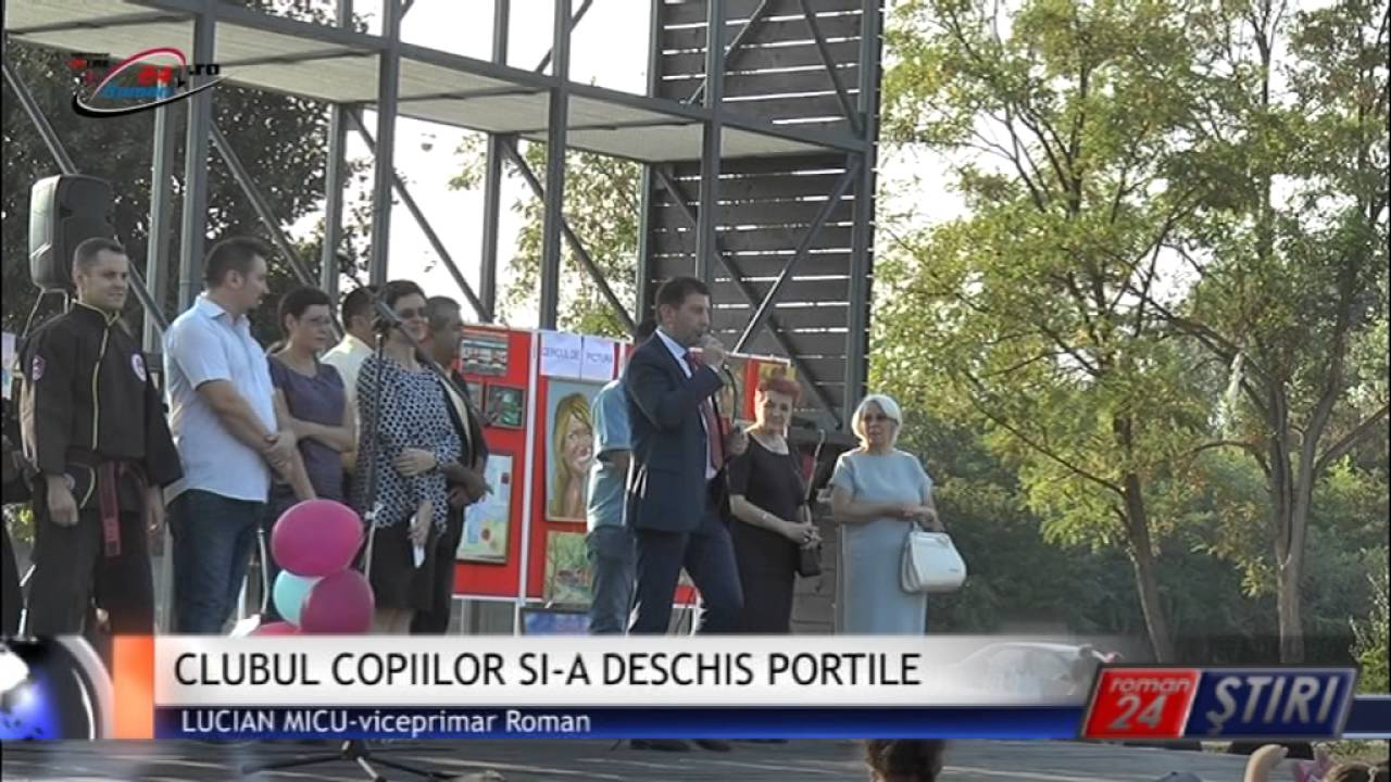 CLUBUL COPIILOR SI-A DESCHIS PORTILE