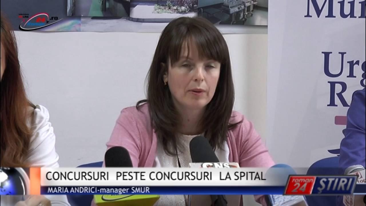 CONCURSURI PESTE CONCURSURI LA SPITAL