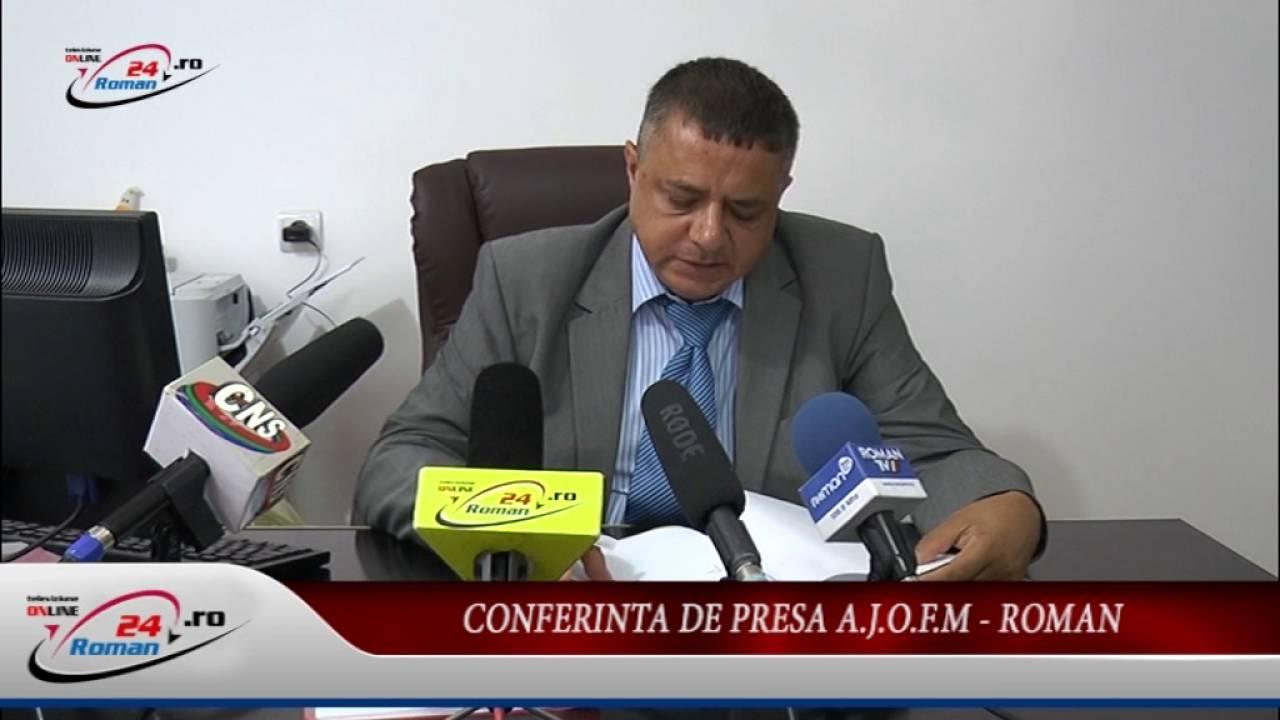 Conferinta de presa AJOFM Roman