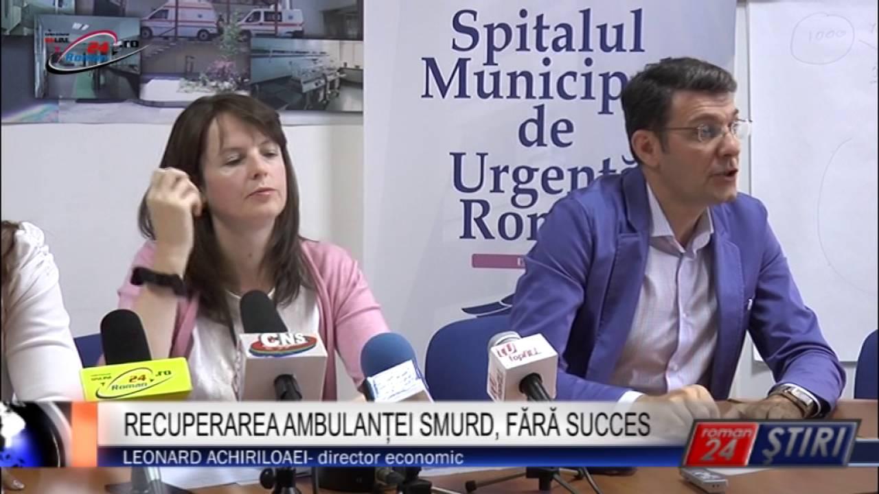 RECUPERAREA AMBULANȚEI SMURD, FĂRĂ SUCCES