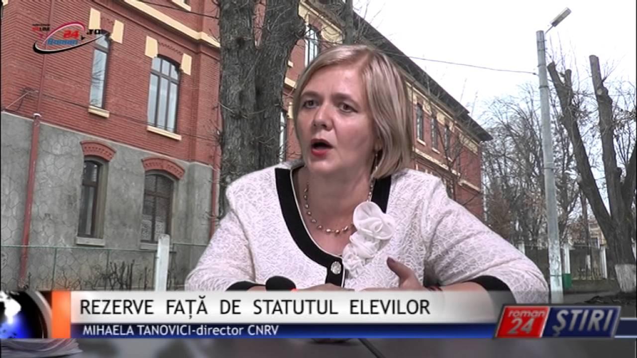 REZERVE FAȚĂ DE STATUTUL ELEVILOR