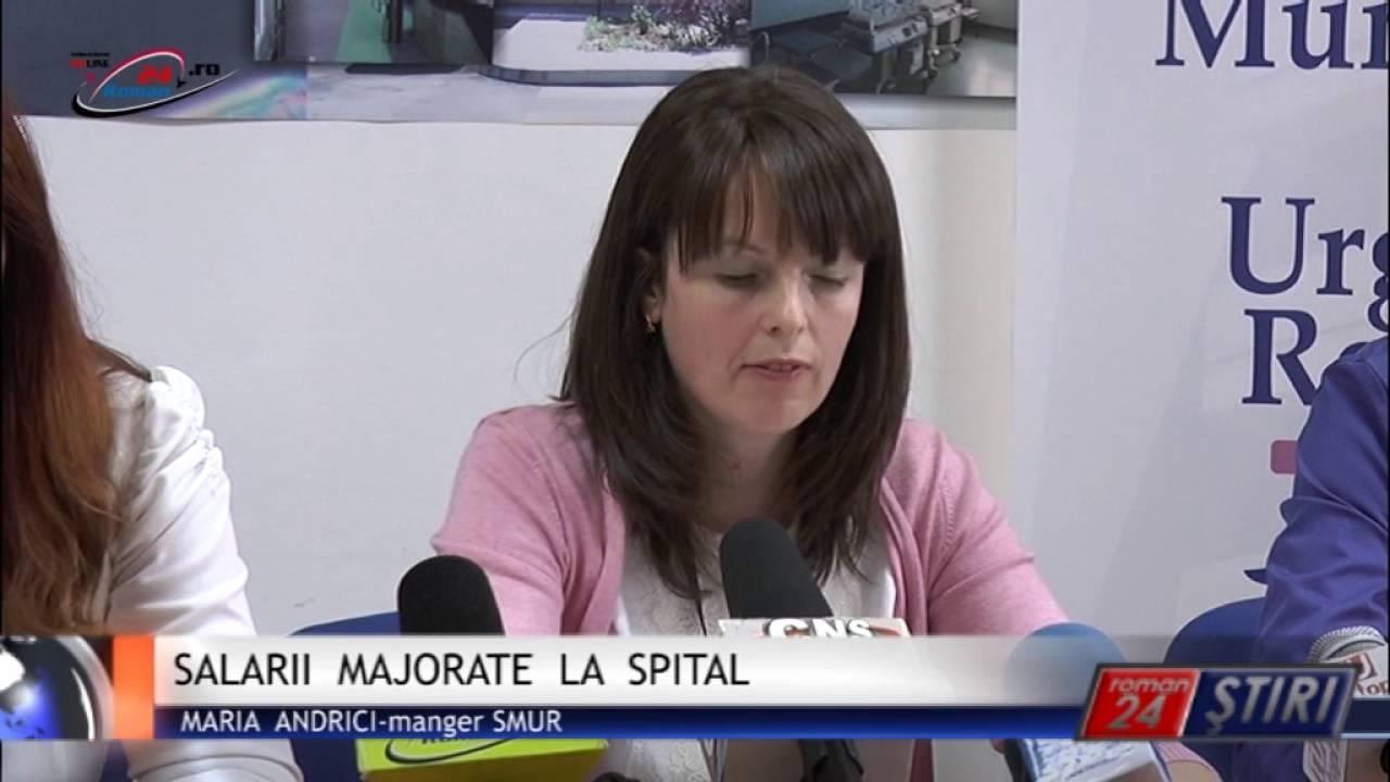 SALARII MAJORATE LA SPITAL