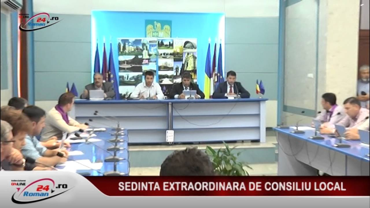 SEDINTA EXTRAORDINARA DE CONSILIU LOCAL 16.09.2016