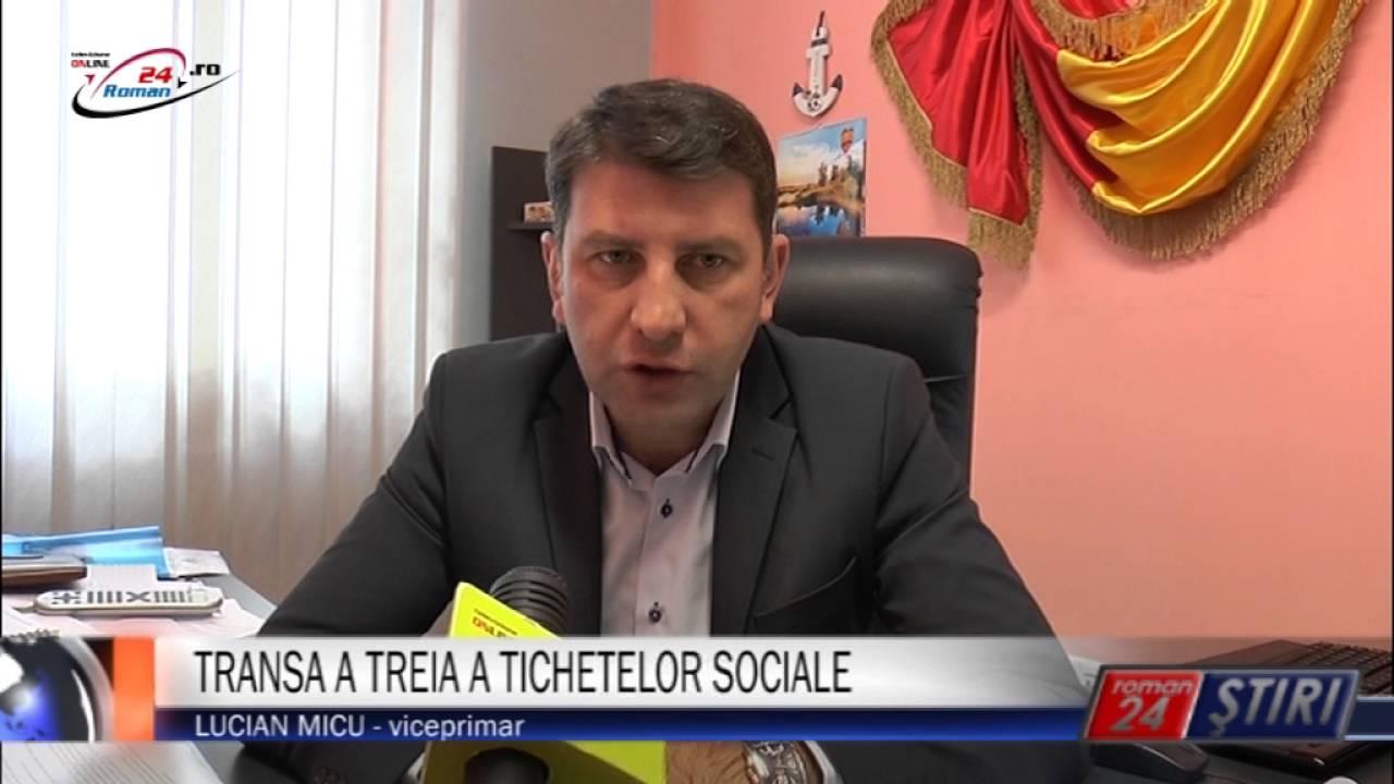 TRANSA A TREIA A TICHETELOR SOCIALE