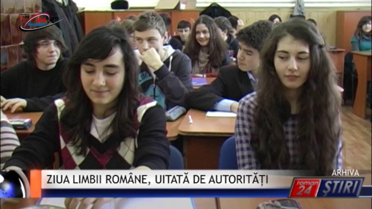 ZIUA LIMBII ROMÂNE, UITATĂ DE AUTORITĂȚI