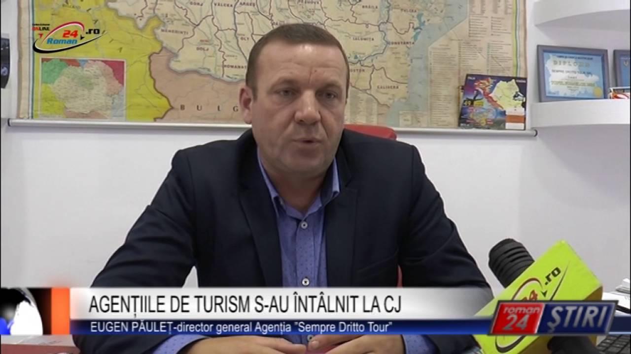 AGENȚIILE DE TURISM S-AU ÎNTÂLNIT LA CJ
