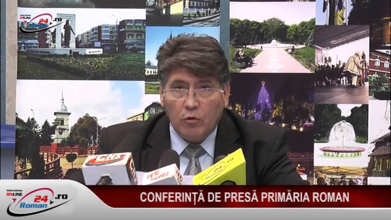 CONFERINTA DE PRESA PRIMARIA ROMAN 24.10.2016