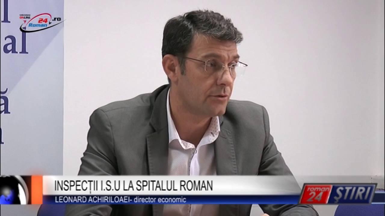 INSPECȚII I.S.U LA SPITALUL ROMAN