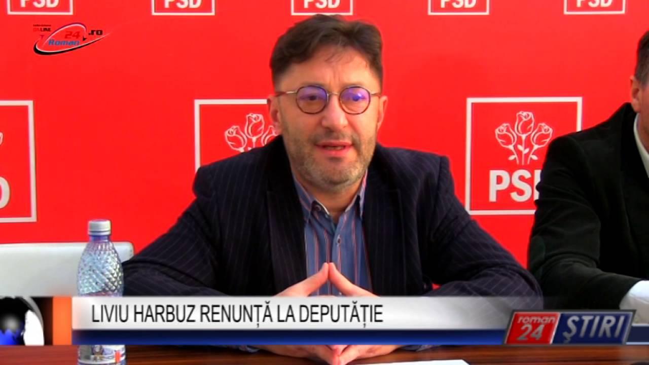 LIVIU HARBUZ RENUNȚĂ LA DEPUTĂȚIE
