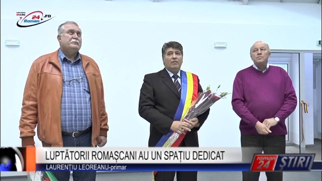 LUPTĂTORII ROMAȘCANI AU UN SPAȚIU DEDICAT