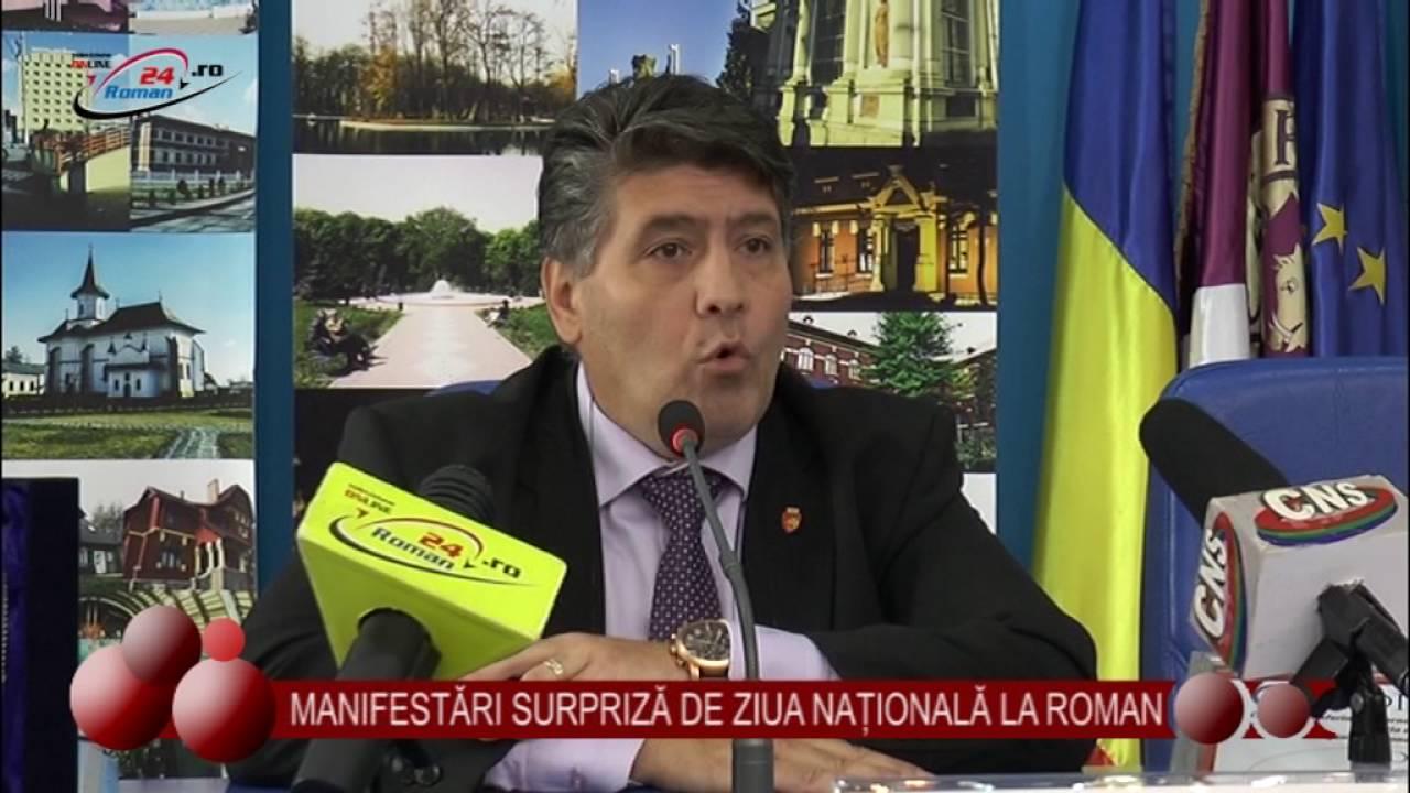 MANIFESTĂRI SURPRIZĂ DE ZIUA NAȚIONALĂ LA ROMAN