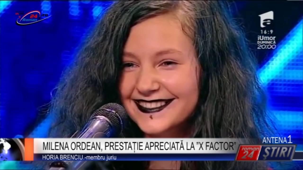 "MILENA ORDEAN, PRESTAȚIE APRECIATĂ LA ""X FACTOR"""