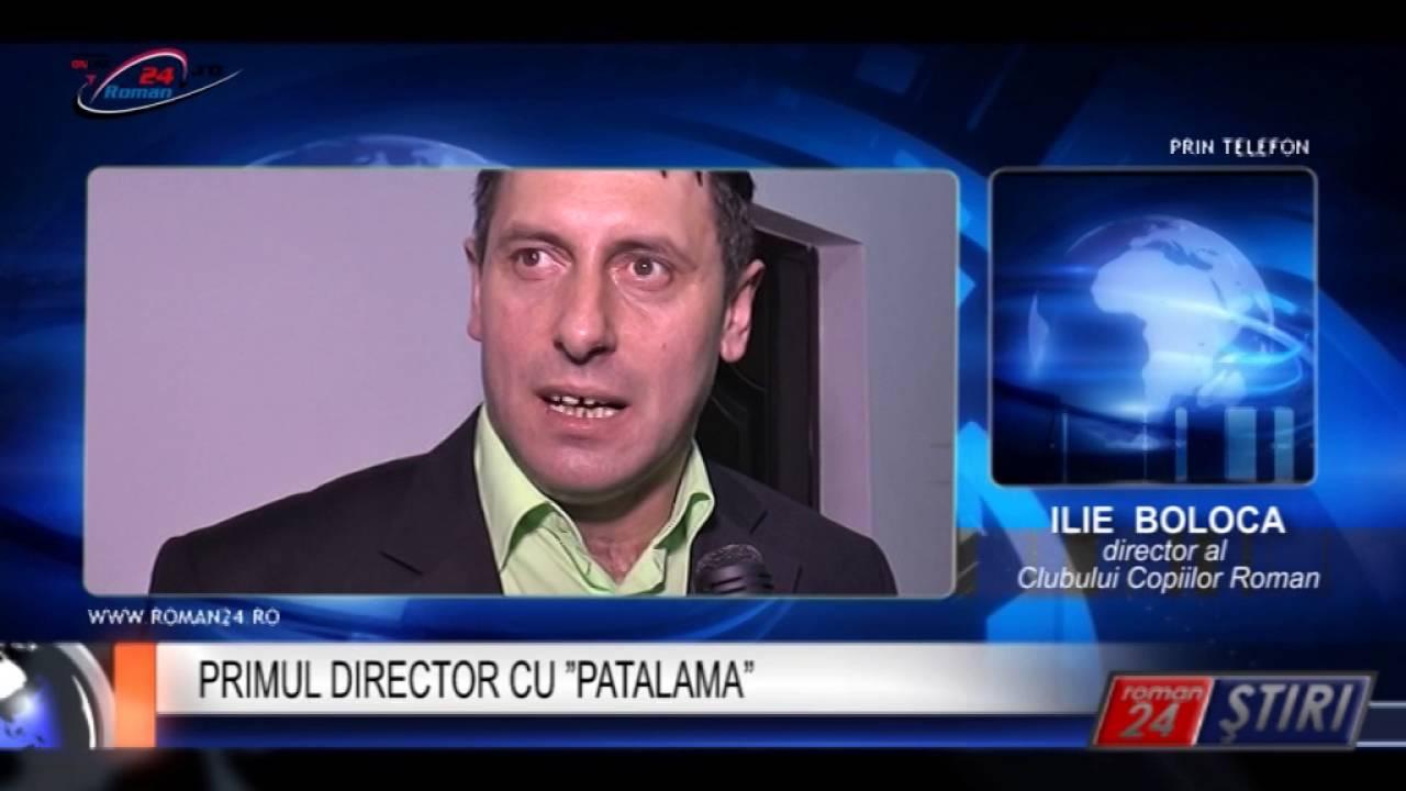 "PRIMUL DIRECTOR CU ""PATALAMA"""