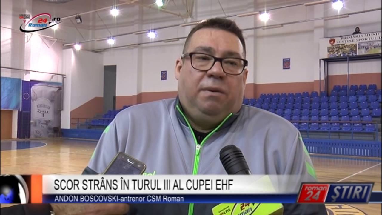 SCOR STRÂNS ÎN TURUL III AL CUPEI EHF