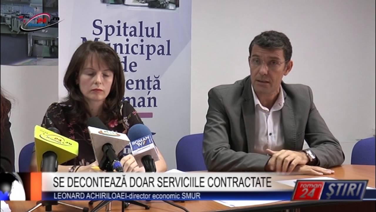 SE DECONTEAZĂ DOAR SERVICIILE CONTRACTATE