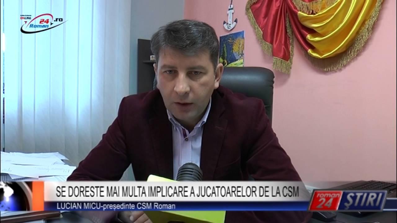 SE DORESTE MAI MULTA IMPLICARE A JUCATOARELOR DE LA CSM