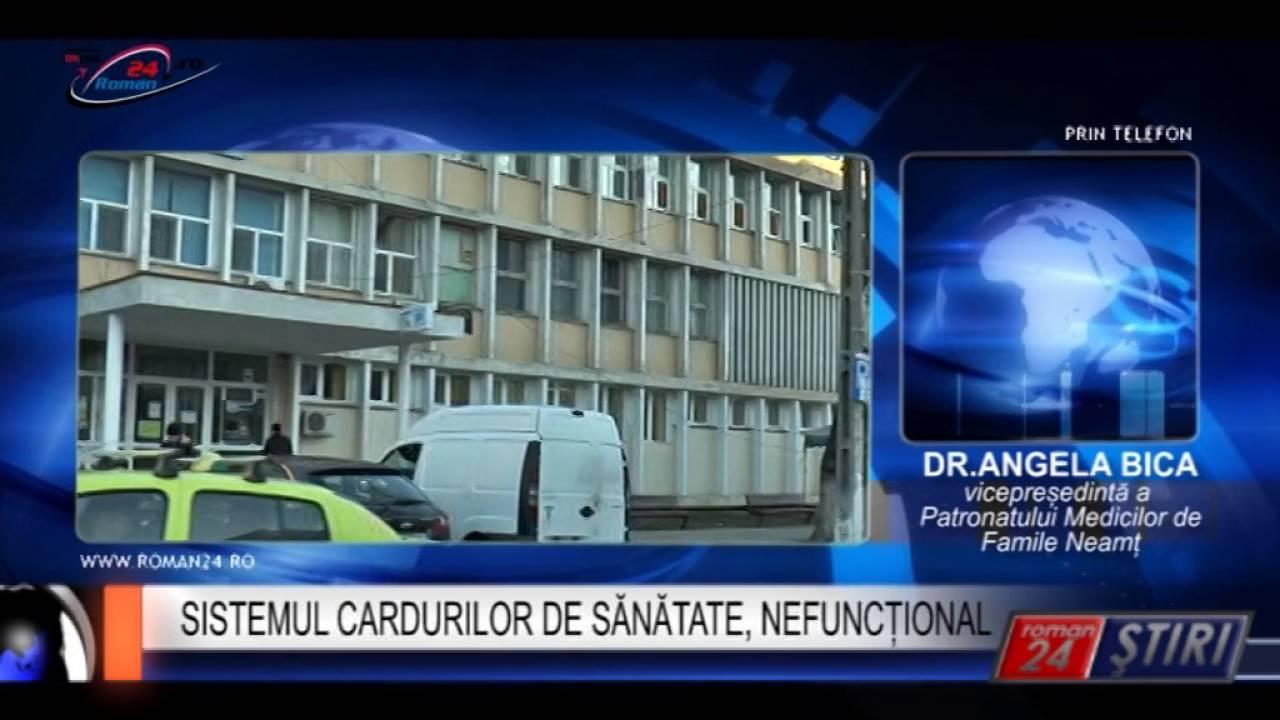 SISTEMUL CARDURILOR DE SĂNĂTATE, NEFUNCȚIONAL