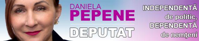 Daniela Pepene, candidat independent