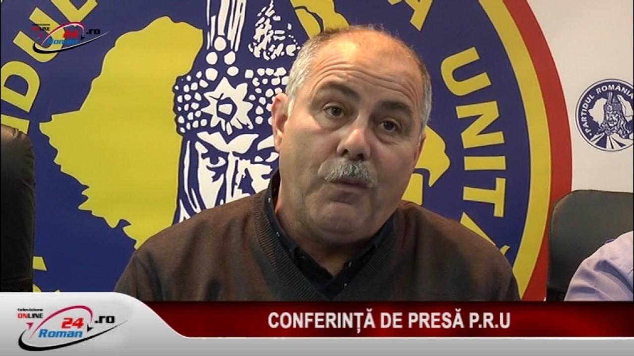 CONFERINTA DE PRESA PRU 08.11.2016