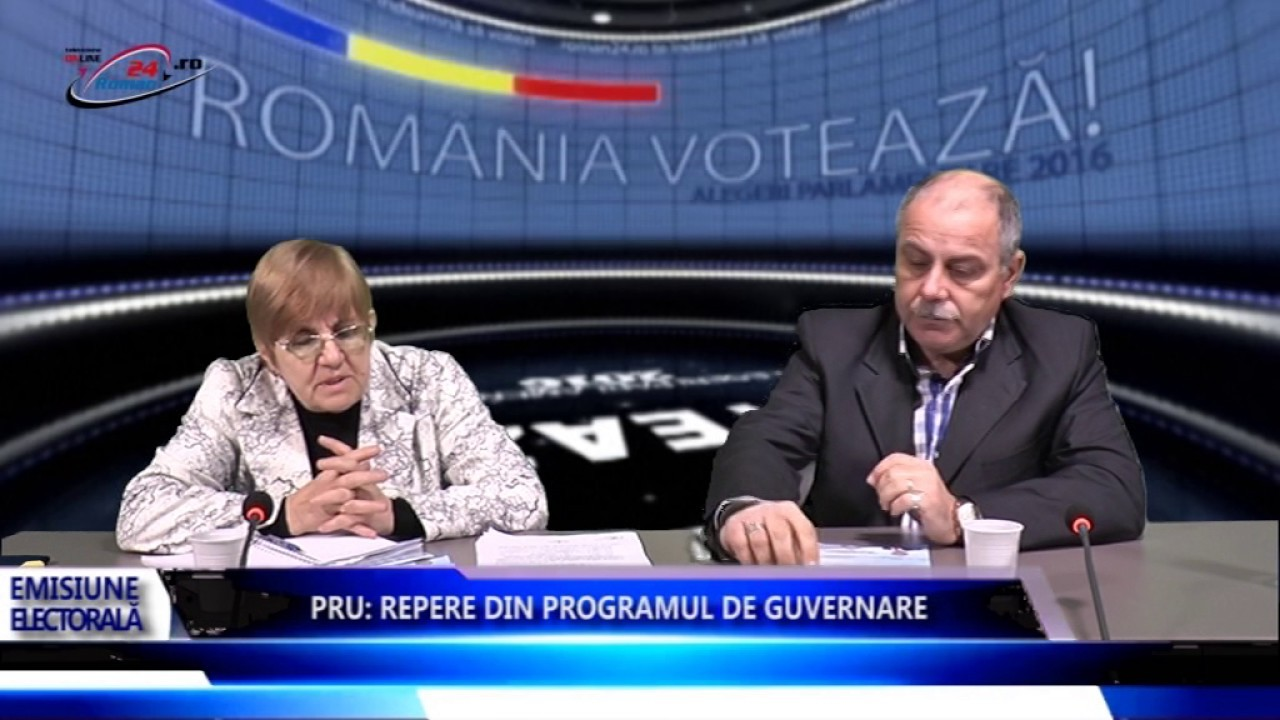 PRU REPERE DIN PROGRAMUL DE GUVERNARE – Emisiune Electorala