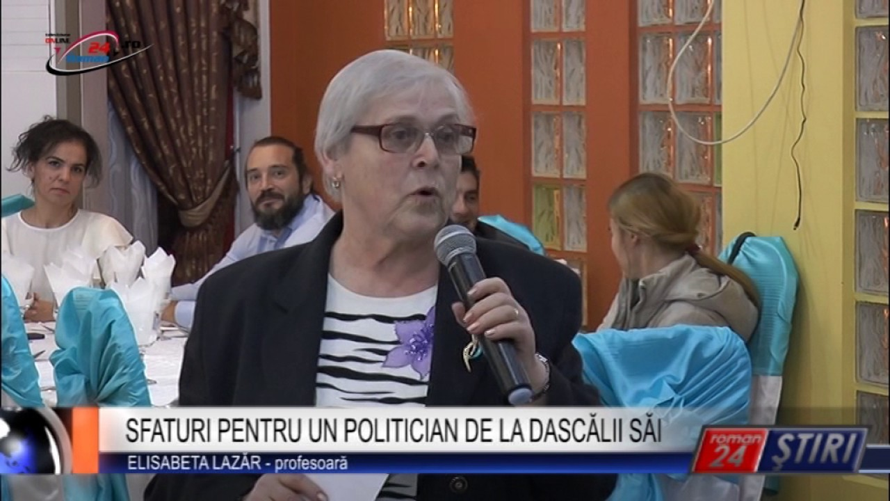 SFATURI PENTRU UN POLITICIAN DE LA DASCĂLII SĂI