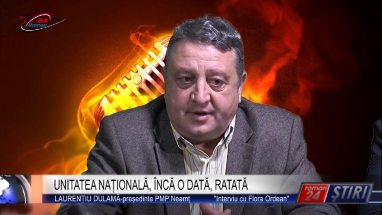 UNITATEA NAȚIONALĂ, ÎNCĂ O DATĂ, RATATĂ