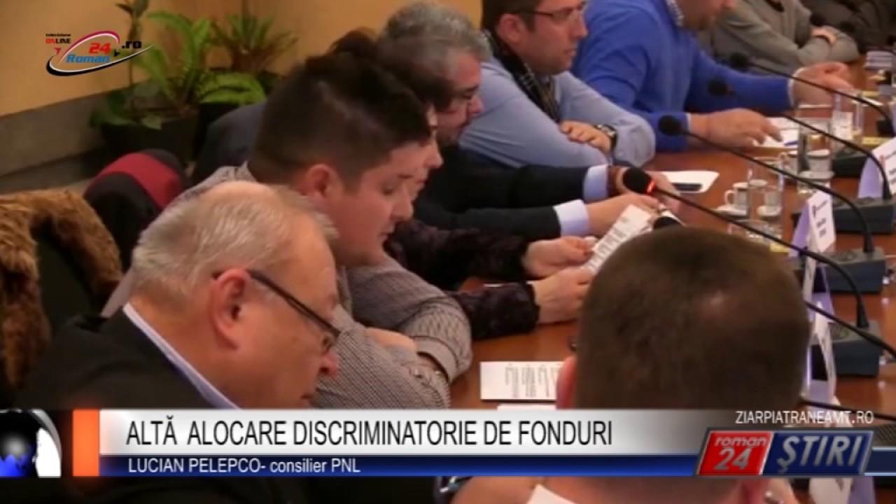 ALTĂ ALOCARE DISCRIMINATORIE DE FONDURI