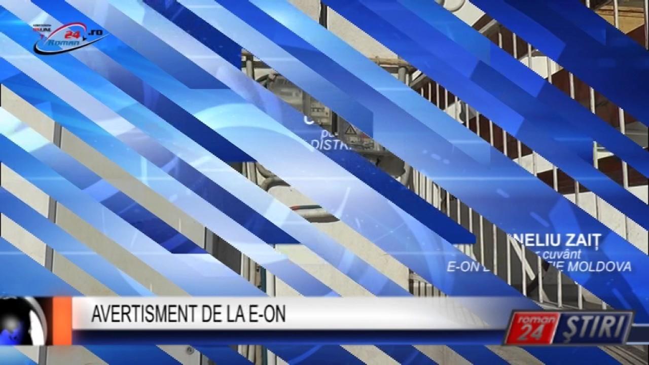 AVERTISMENT DE LA E-ON