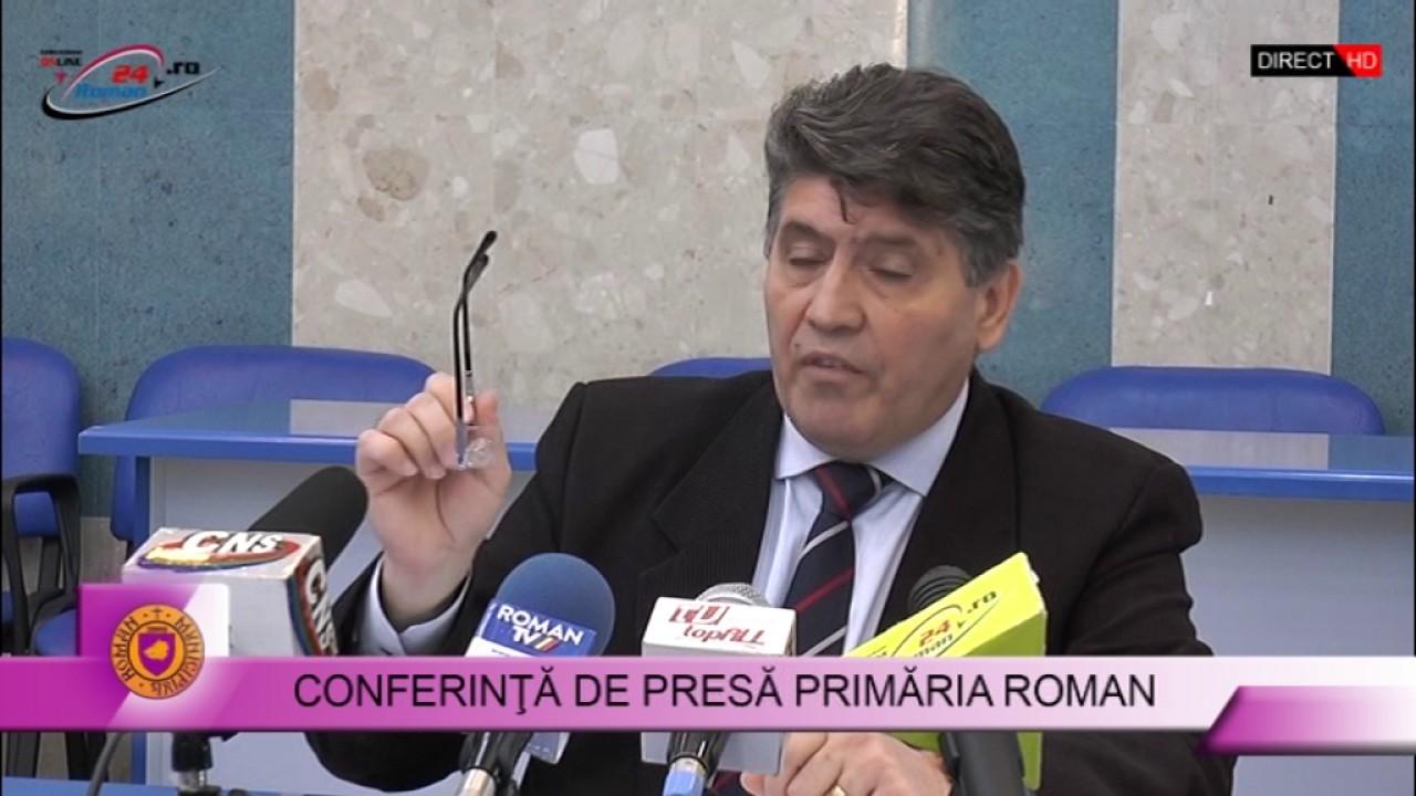 CONFERINTA DE PRESA PRIMARIA ROMAN 14.12.2016
