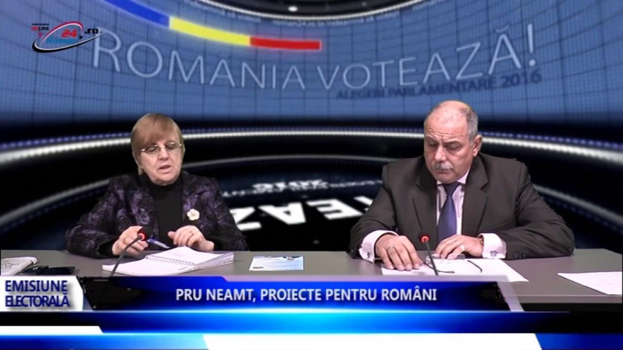 PRU NEAMT PROIECTE PENTRU ROMÂNI