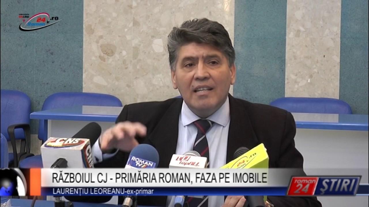 RĂZBOIUL CJ – PRIMĂRIA ROMAN, FAZA PE IMOBILE