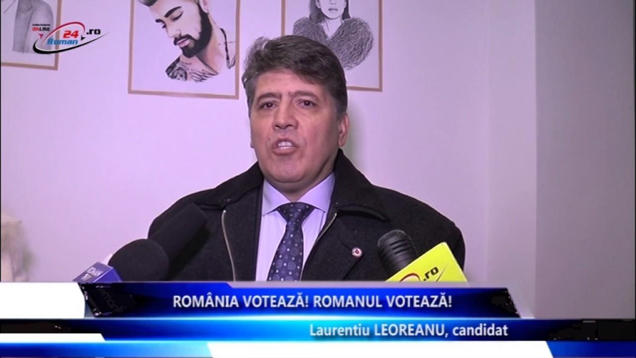 Romania Voteaza, Romanul Voteaza – Dan Laureantiu Leoreanu
