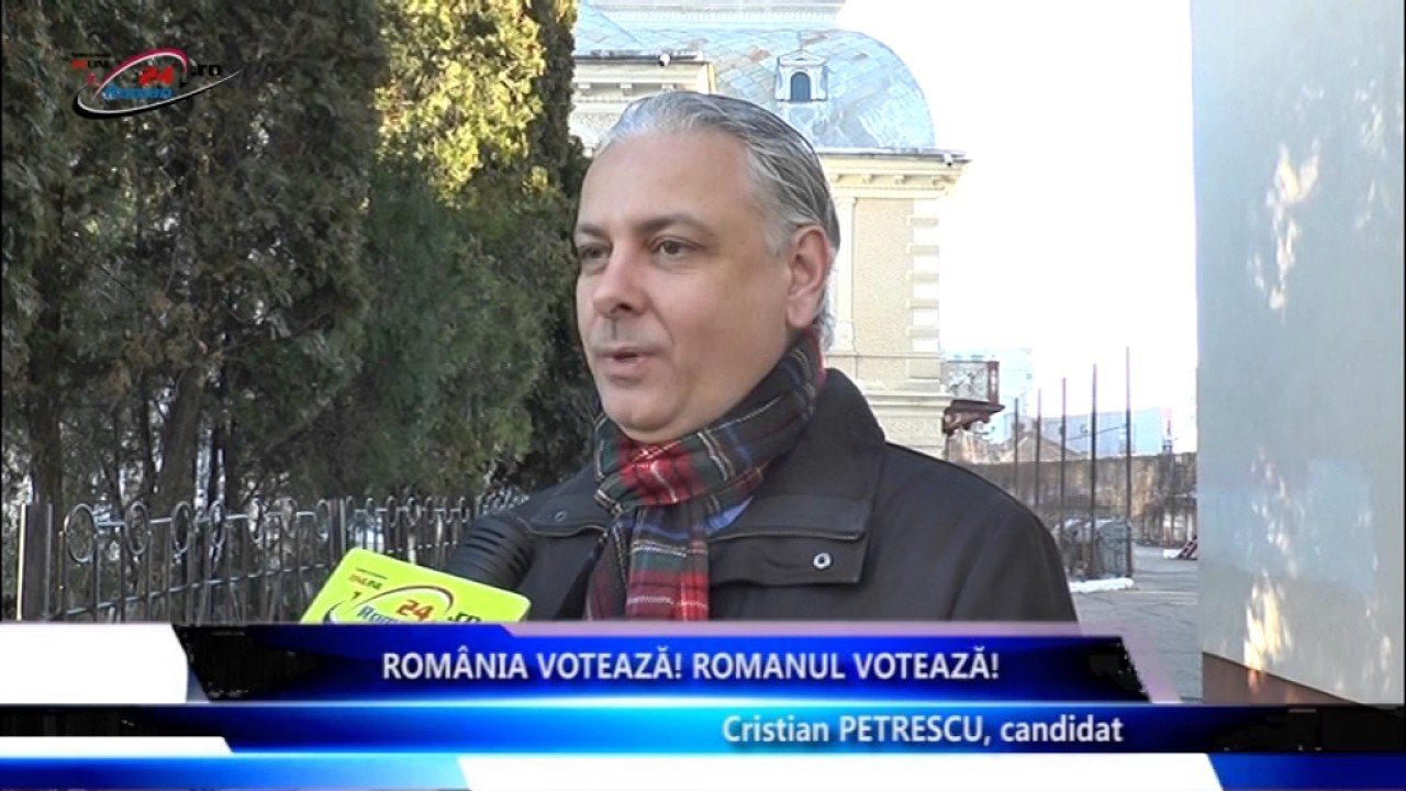 Romania Voteaza, Romanul Voteaza – Cristian Petrescu