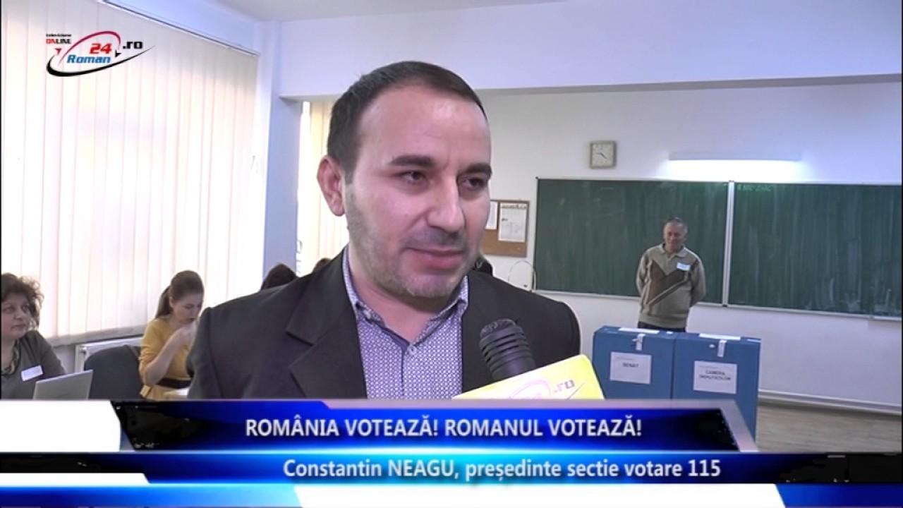 Romania Voteaza, Romanul Voteaza – Constantin Neagu