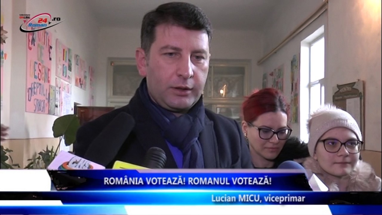 Romania Voteaza, Romanul Voteaza – Lucian Micu