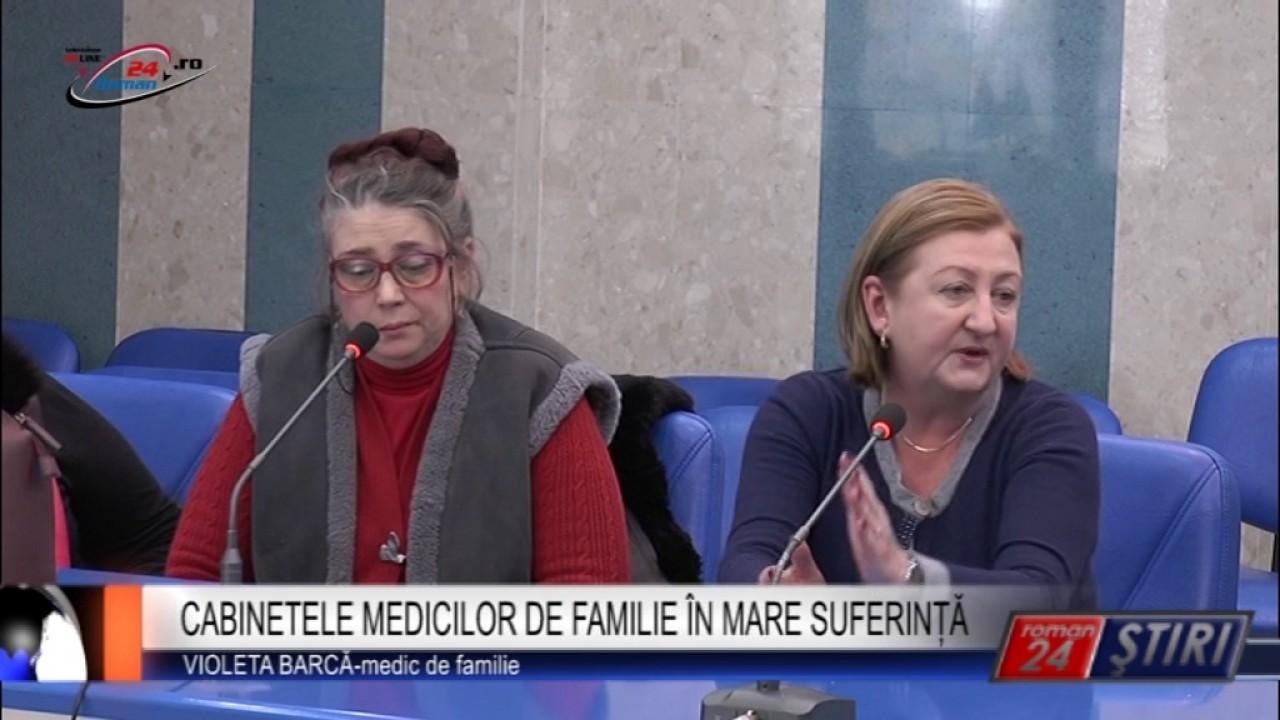 CABINETELE MEDICILOR DE FAMILIE ÎN MARE SUFERINȚĂ