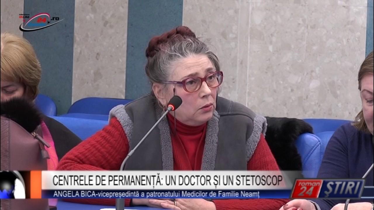 CENTRELE DE PERMANENȚĂ: UN DOCTOR ȘI UN STETOSCOP