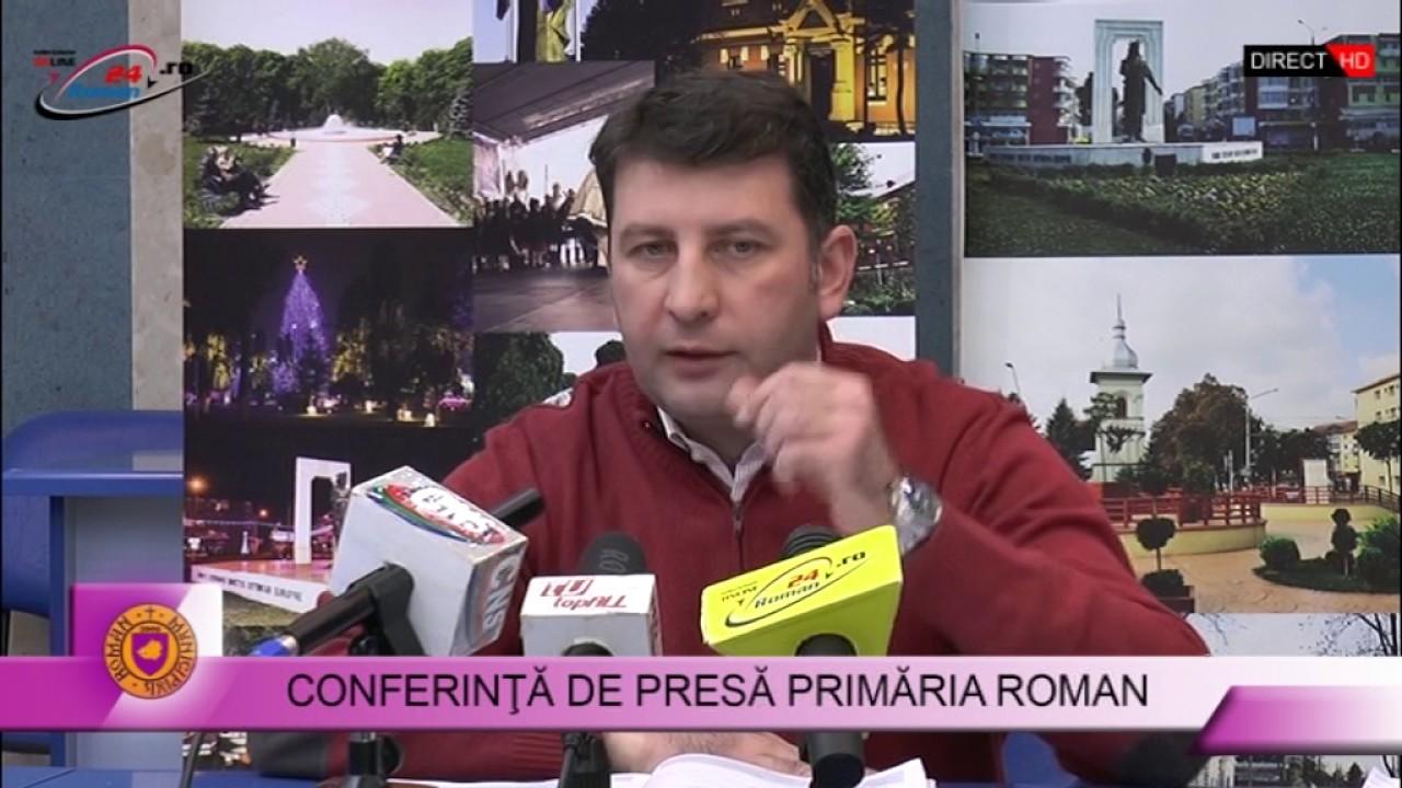 CONFERINȚĂ DE PRESĂ PRIMĂRIA ROMAN 09.01.2017