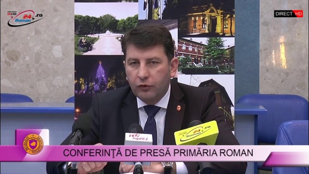 CONFERINȚĂ DE PRESĂ PRIMĂRIA ROMAN