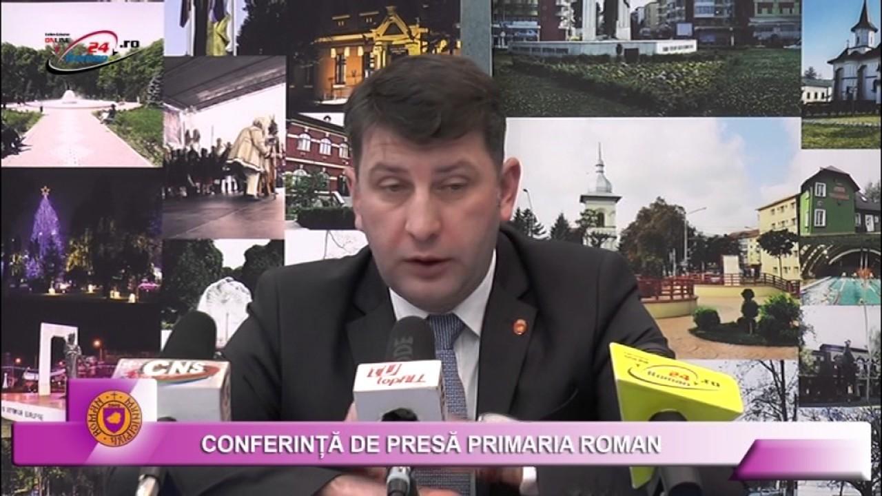 CONFERINTA DE PRESA PRIMARIA ROMAN 30 IANUARIE 2017