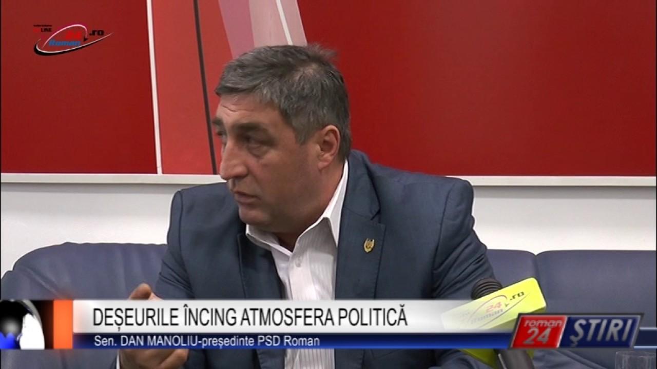 DEȘEURILE ÎNCING ATMOSFERA POLITICĂ