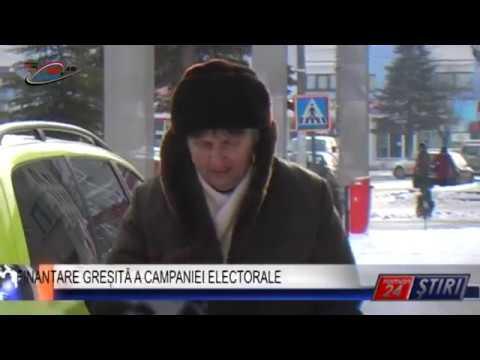 FINANȚARE GREȘITĂ A CAMPANIEI ELECTORALE