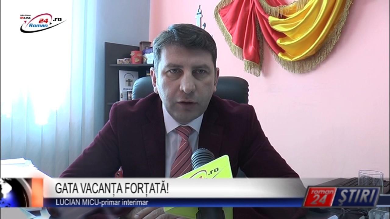 GATA VACANȚA FORȚATĂ