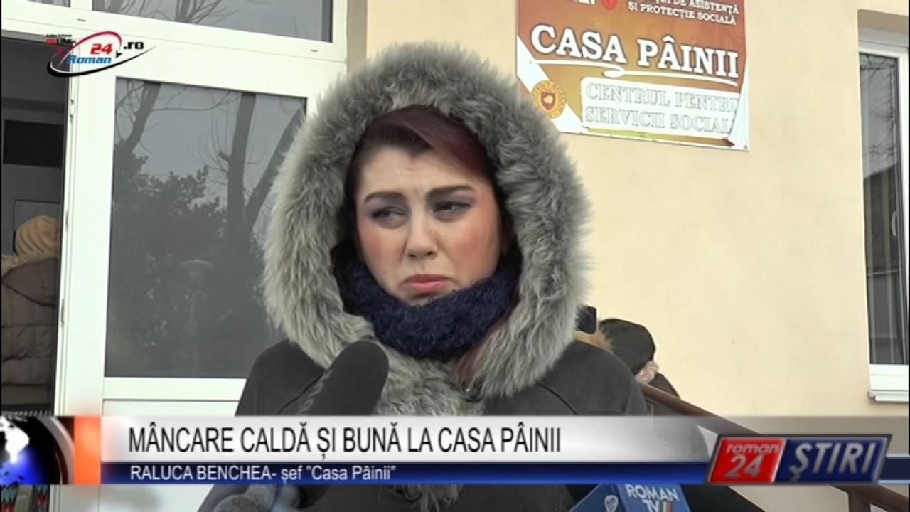 MÂNCARE CALDĂ ȘI BUNĂ LA CASA PÂINII