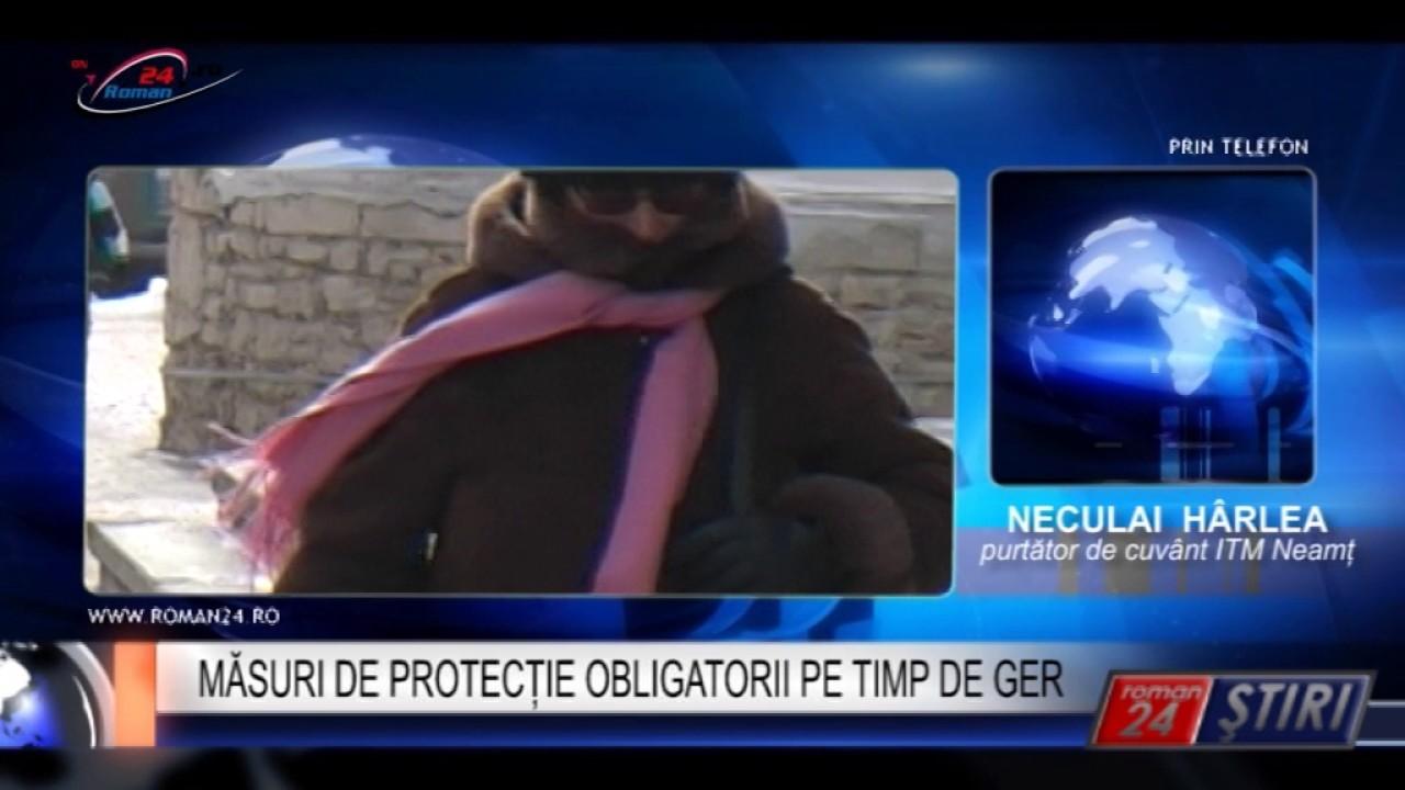 MĂSURI DE PROTECȚIE OBLIGATORII PE TIMP DE GER