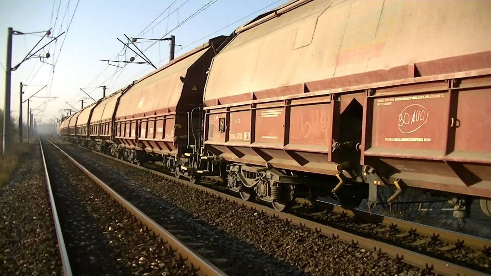 Trenuri de marfă DIRECTE către Londra. Din China!