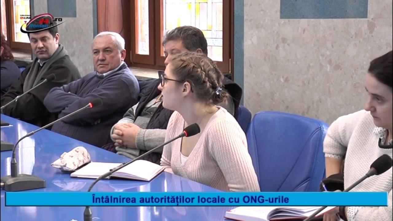 ÎNTÂLNIREA AUTORITĂȚILOR LOCALE CU ONG-URILE