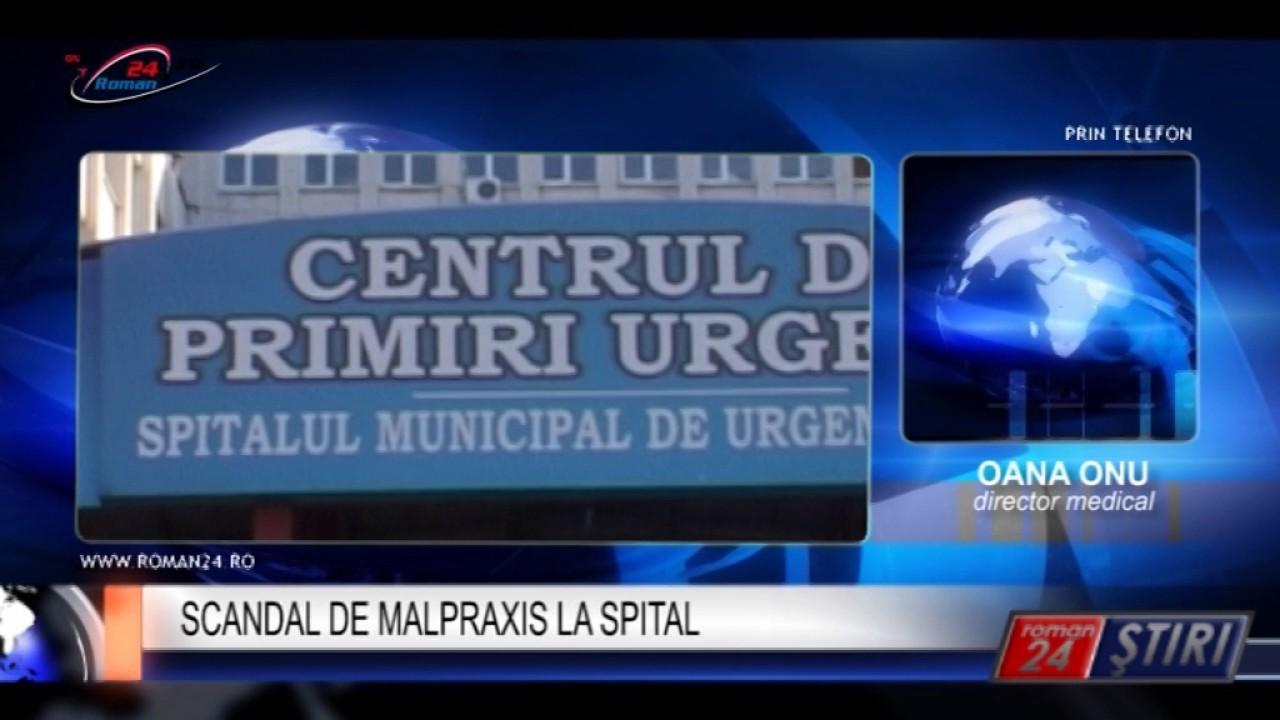 SCANDAL DE MALPRAXIS LA SPITAL
